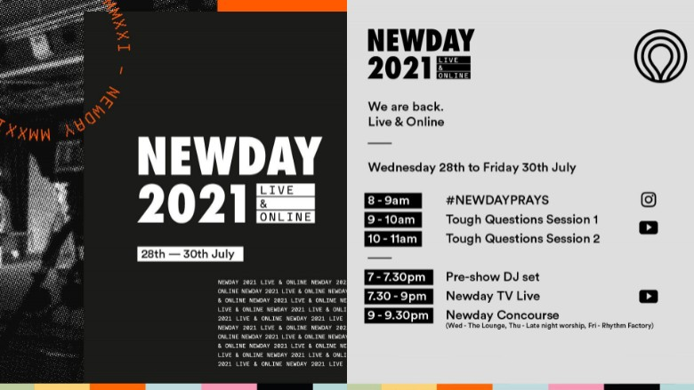 Newday 2021 - Join us to pray!