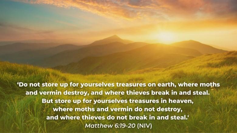 Leaving Your Mark - Treasure In Heaven